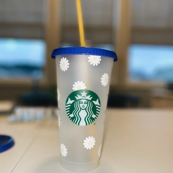 Daisy reusable Starbucks cup